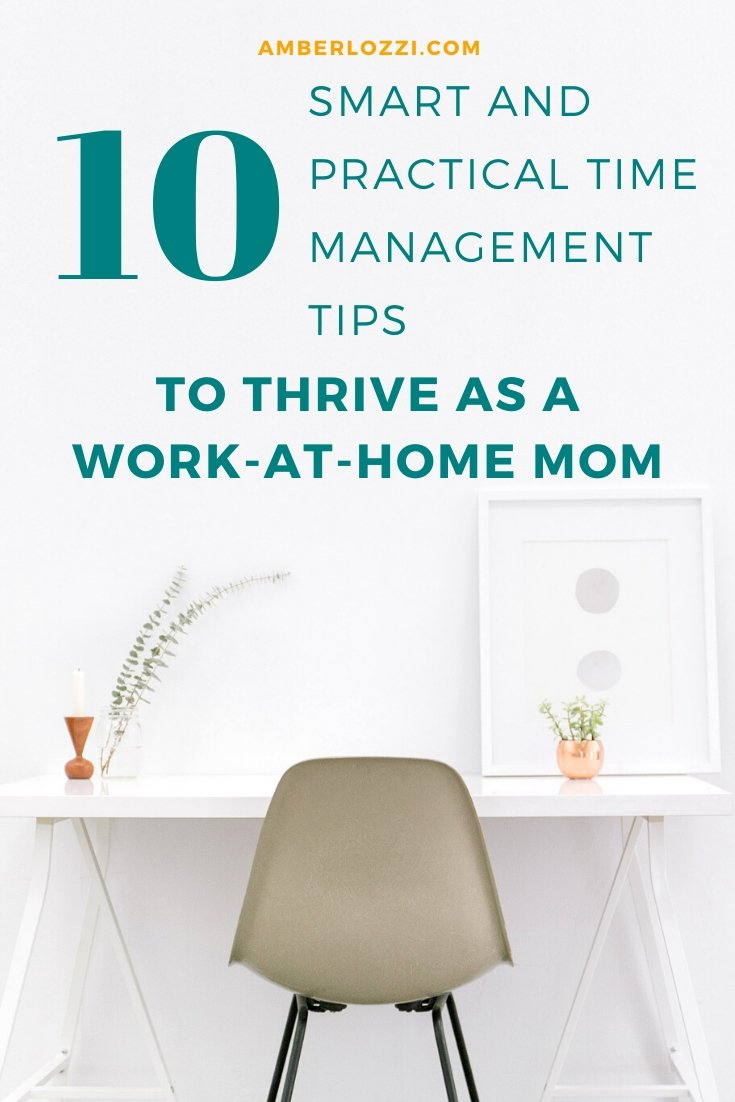 time management tips work from home